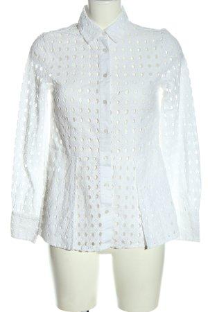 Warehouse Blouse-chemisier blanc style décontracté