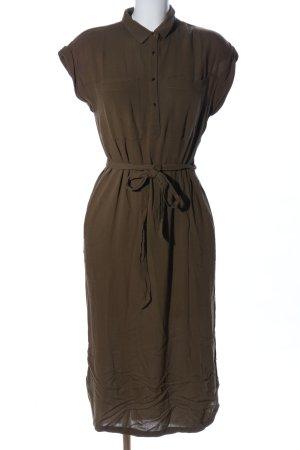 Warehouse Shirtwaist dress khaki casual look