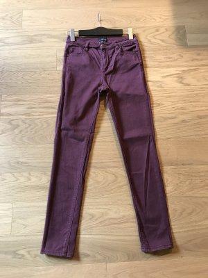Warehouse Jeans coupe-droite multicolore coton