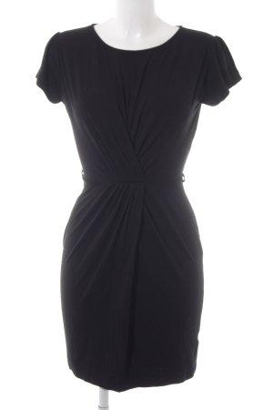 Warehouse Jerseykleid schwarz Casual-Look