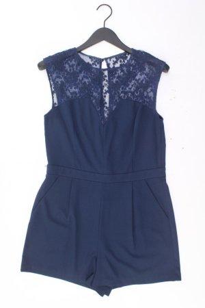 Warehouse Jumpsuit Größe 40 neuwertig blau aus Polyester