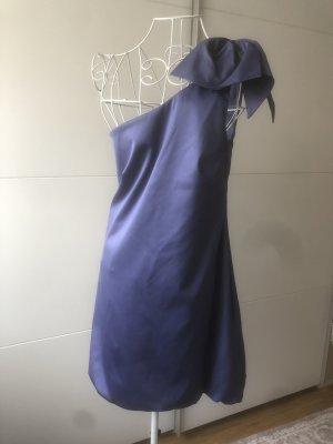Warehouse Sukienka z rękawem balonowym niebieski-niebiesko-fioletowy