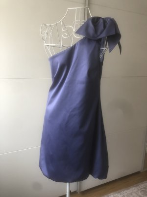 Warehouse Kleid blau oneshoulder M 38