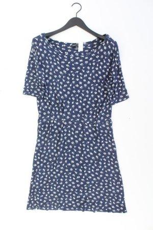 Warehouse Kleid blau Tierdruck Größe 40