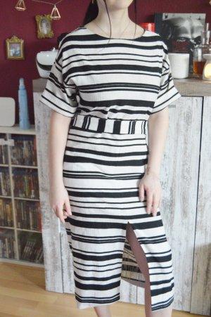 Warehouse Kleid gestreift kostüm