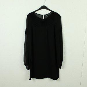 Warehouse Robe à manches longues noir polyester