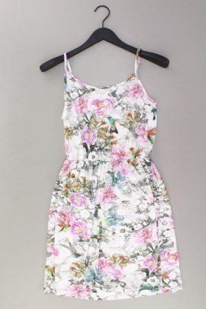 Warehouse Kleid Größe 38 blumen mehrfarbig aus Viskose