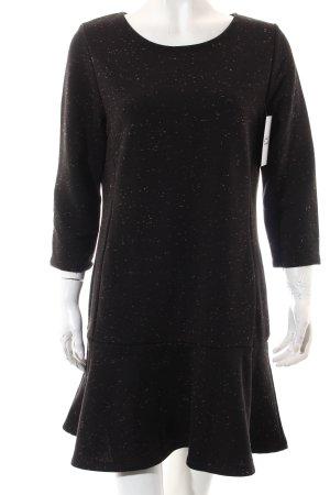 Warehouse Kleid schwarz-hellbraun