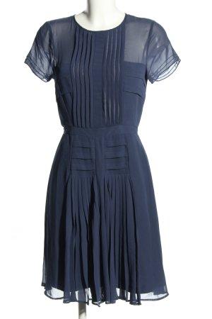 Warehouse Kurzarmkleid blau Elegant