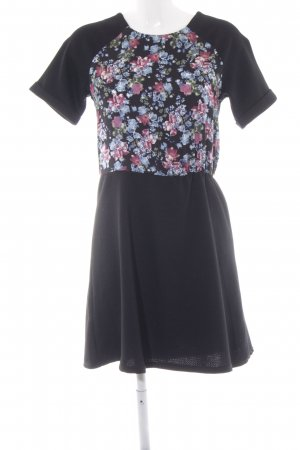 Warehouse Kurzarmkleid Blumenmuster Casual-Look