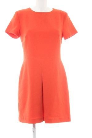 Warehouse Robe à manches courtes orange style d'affaires
