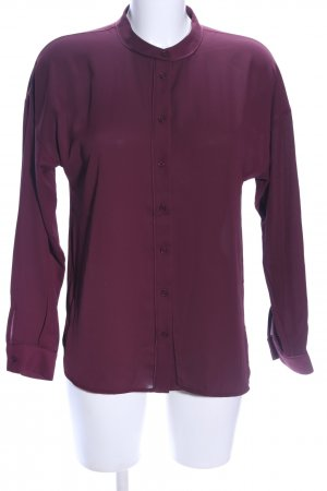 Warehouse Langarm-Bluse rot Business-Look