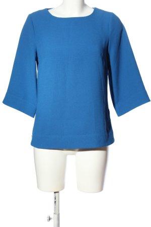Warehouse Langarm-Bluse blau Casual-Look