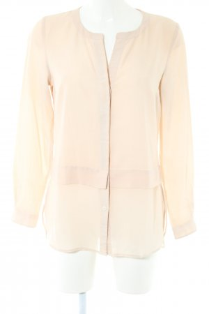Warehouse Langarm-Bluse creme Casual-Look