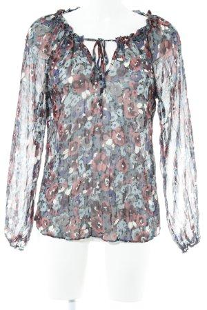 Warehouse Langarm-Bluse mehrfarbig Casual-Look