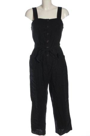 Warehouse Langer Jumpsuit schwarz Casual-Look