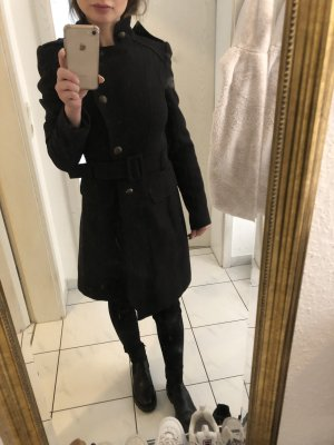 Warehouse Pea Coat black