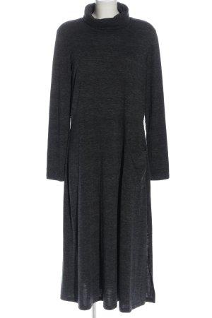 Warehouse Maxi abito grigio chiaro puntinato stile casual