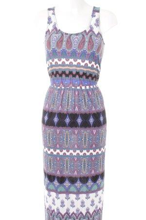 Warehouse Maxi abito multicolore stile casual