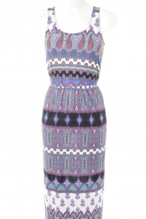 Warehouse Maxikleid Paisleymuster Casual-Look