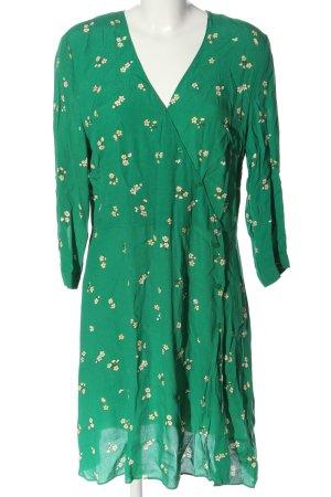 Warehouse Robe mi-longue imprimé allover style décontracté