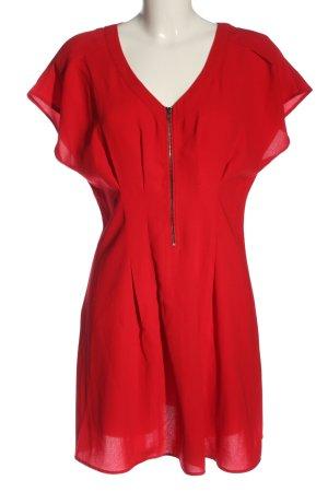 Warehouse Robe courte rouge style décontracté
