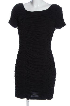 Warehouse Robe courte noir élégant