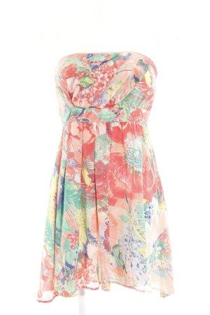 Warehouse Mini vestido multicolor