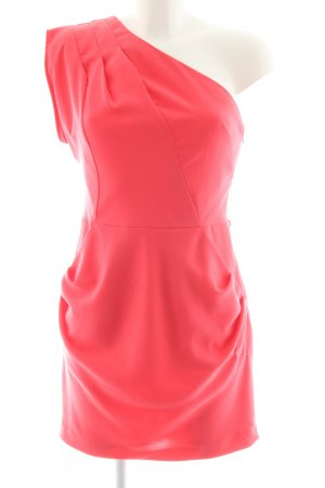 Warehouse One Shoulder Dress red elegant