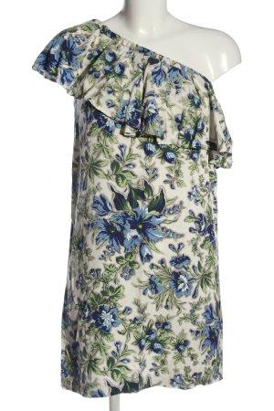 Warehouse Robe asymétrique imprimé allover style décontracté