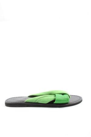 Warehouse Sandalo comodo verde stile casual