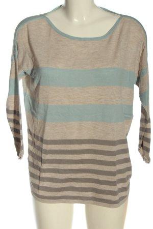 Warehouse Jersey de cuello redondo gris claro moteado elegante