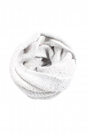 Warehouse Tube Scarf light grey-white cable stitch casual look