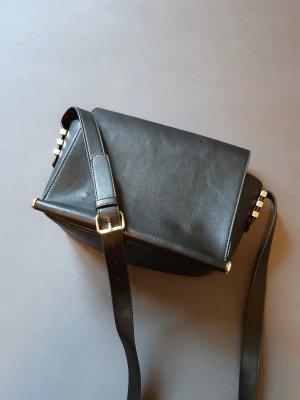 warehouse schwarze Crossbody Handtasche