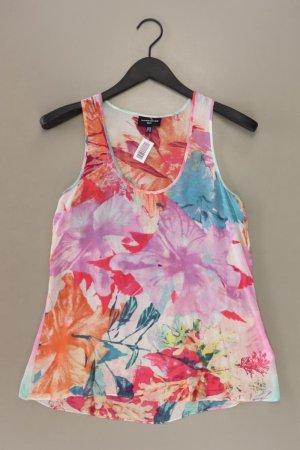 Warehouse Blusa de seda multicolor Seda