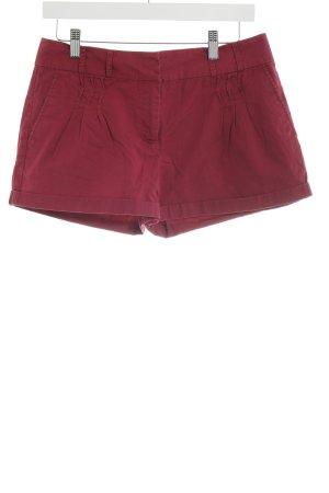Warehouse Shorts karminrot Casual-Look