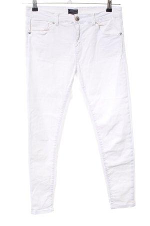 Warehouse Skinny Jeans weiß Casual-Look