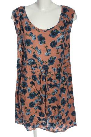 Warehouse Sommerkleid Allover-Druck Casual-Look