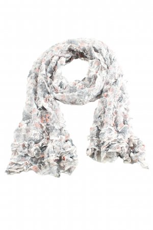 Warehouse Summer Scarf light grey allover print casual look