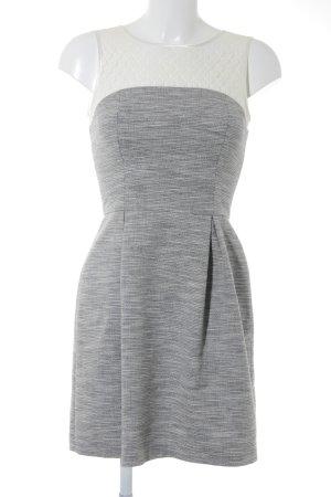 Warehouse Spitzenkleid weiß-grau Party-Look