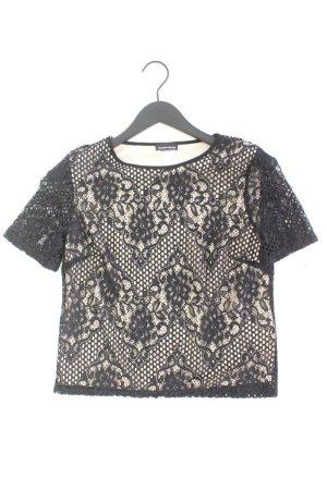 Warehouse Spitzenshirt Größe S schwarz aus Nylon