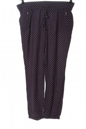 Warehouse Stoffhose Allover-Druck Casual-Look