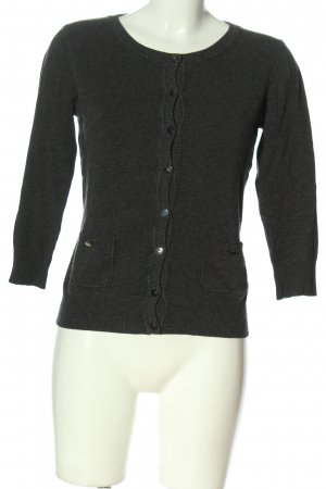 Warehouse Cardigan tricotés noir moucheté style décontracté