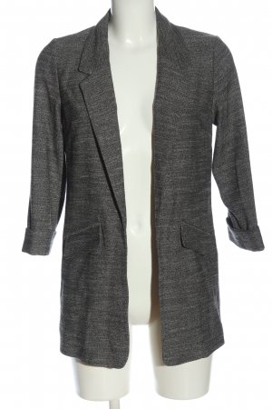 Warehouse Knitted Blazer light grey flecked casual look
