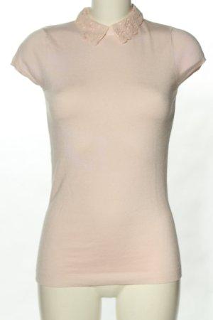 Warehouse Strickshirt creme Casual-Look