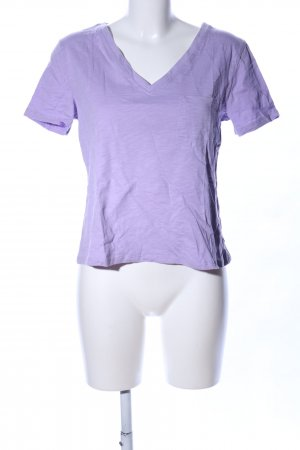 Warehouse T-Shirt lila Casual-Look