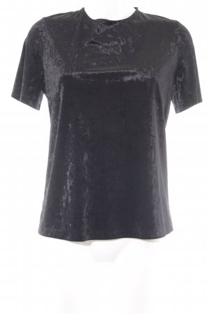 Warehouse T-Shirt schwarz 90ies-Stil