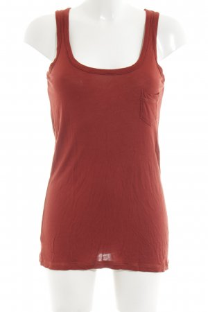 Warehouse Tanktop hellorange Casual-Look