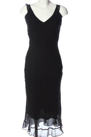 Warehouse Trägerkleid schwarz Elegant