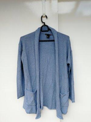 H&M Kurtka zimowa błękitny-chabrowy